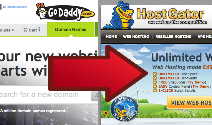 Hostgator Hosting vs Godaddy Hosting Review