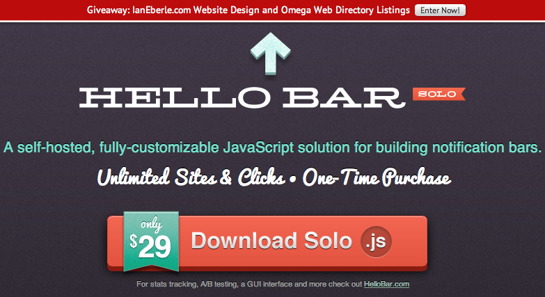 How To Install Hello Bar Solo On a WordPress Site