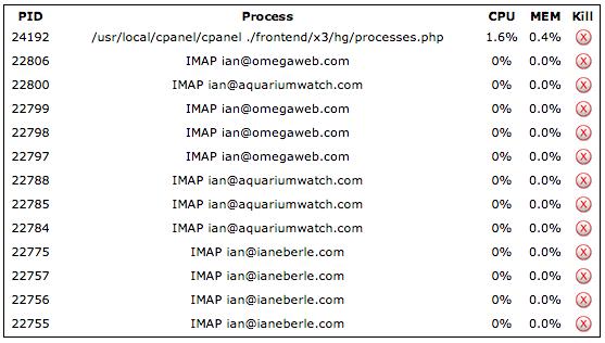 IMAP Accounts