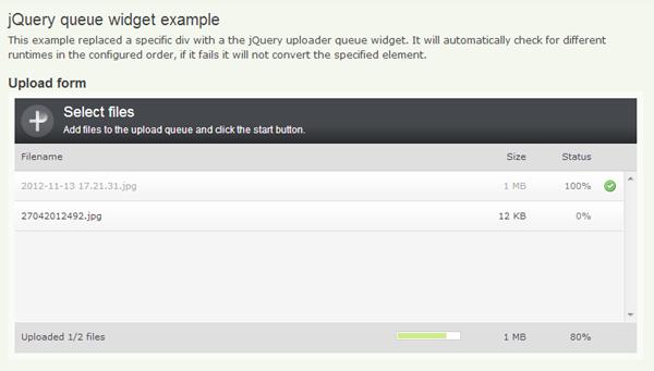 Cross-Browser Multi Featured File Upload Plugins