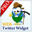 WDS Twitter Widget Pro