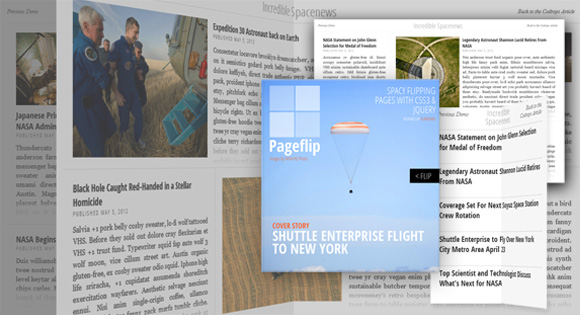 5 Free jQuery Page Flip Book Plugins