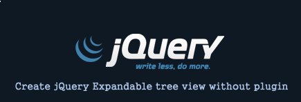Hand Code a jQuery Expandable Tree View Menu