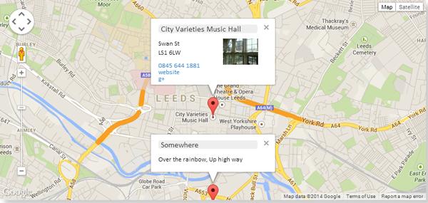 20+ Useful jQuery Google Maps Plugins