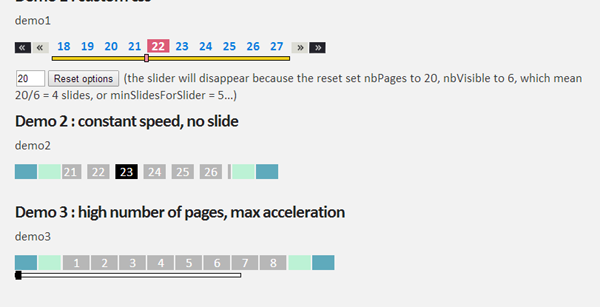 Best jQuery Pagination Plugins