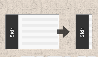 Sidr - jQuery Plugin for Creating Responsive Side Menus