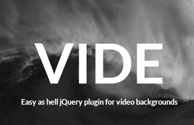 A jQuery Plugin For Video Backgrounds