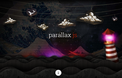 Parallax Parallax Engine that reacts to the orientation of a smart device