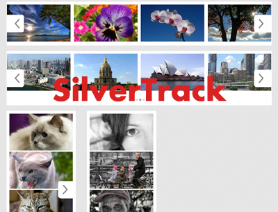 SilverTrack A smart and very extensible jquery sliding carousel