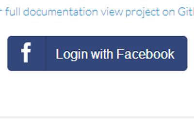 jQuery Plugin for Easy Facebook Login