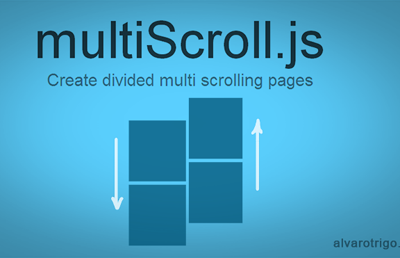 multiScroll jQuery Plugin To Create Multi Scrolling