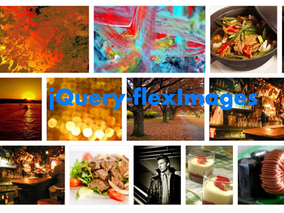 jQuery-flexImages - A lightweight jQuery Plugin for Images Gallery