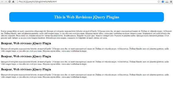 jquery plugin french