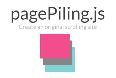 pagepilling - Create Beautiful Fullscreen Scrolling Websites