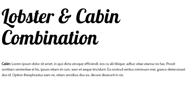 20 Best Google Font Combinations for Your Next Design