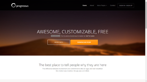 Free Bootstrap Templates & Themes