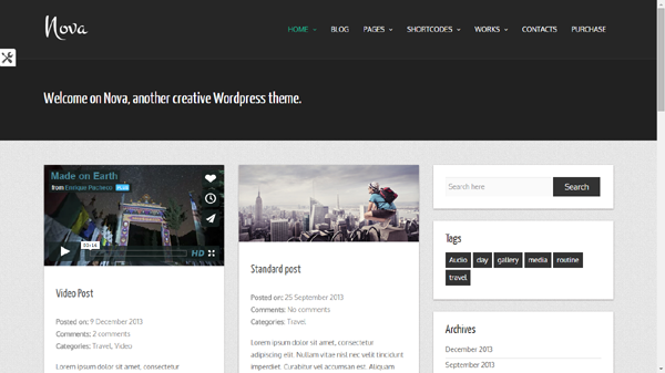 Free WordPress Themes Built on Twitter's Bootstrap