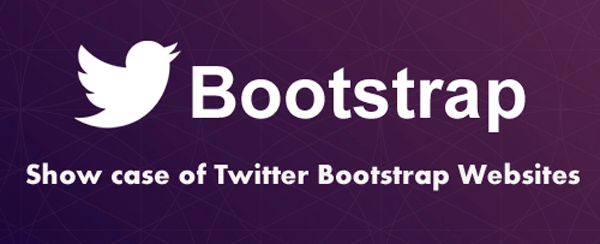 Show case of Twitter Bootstrap Website