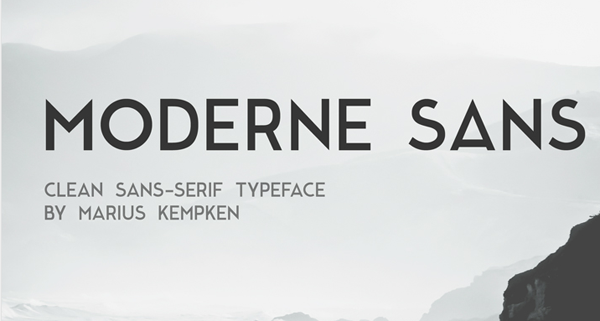 10 Free Geometric Style Fonts to Download