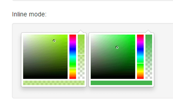 jQuery Color Picker Plugin