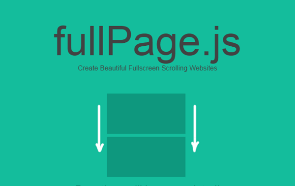Create One Page scrolling website