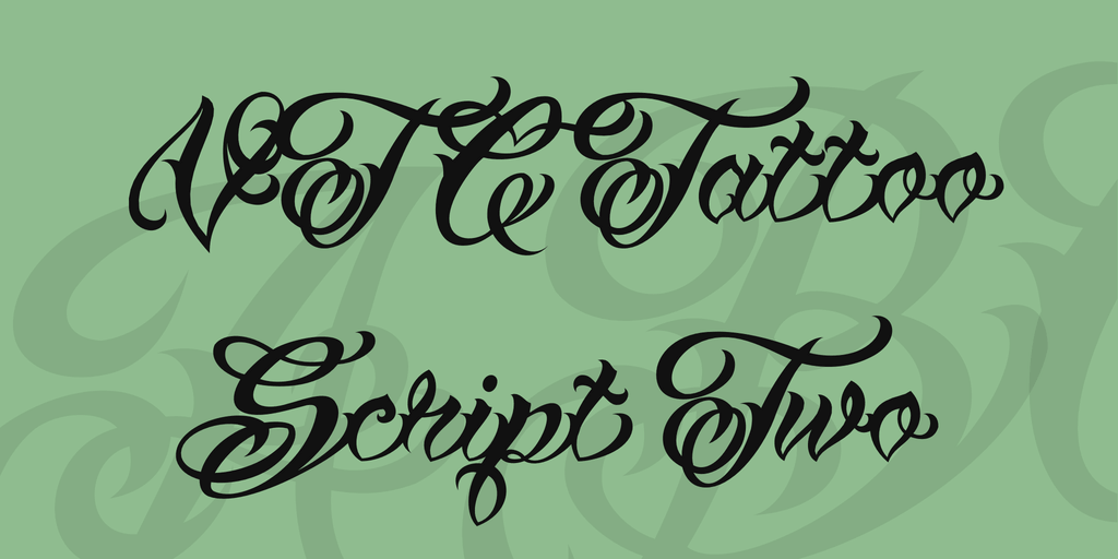 Free Tattoo Fonts for Creative Designs