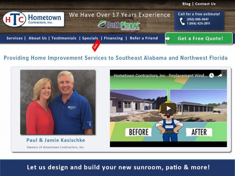 Contracting Website Design