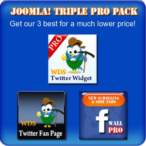 Triple Pro Joomla! Pack FREE!