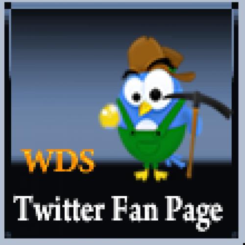 WDS Twitter Fan Page